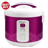 Magic Com Kirin Rice Cooker Penanak Nasi Kirin KRC 388 2 L - Magenta