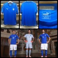 Jersey Italy Home Official Euro 2016 Grade Ori Murah