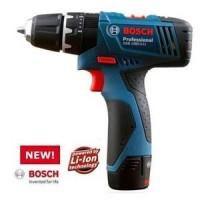 Bosch GSB 1080-2-Li Cordless Mesin Bor Besi, Kayu, Tembok