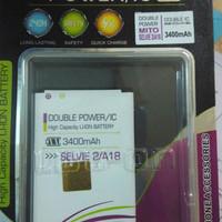 baterai battery mito a18 fantasy selfie 2 dobel power log on 3400mah