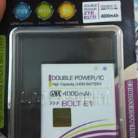 baterai battery Hp bolt ZTE E1 dobel power log on 4000mah