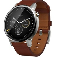 harga Moto 360 2 Gen 46mm Silver With Cognac Leather Tokopedia.com