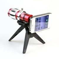 Harga lesung telephoto lens kit 12 5x zoom magnifier for iphone 5 a tl | Pembandingharga.com