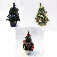 25 cm Pohon Natal mini Christmas Tree gift bonsai ornamen