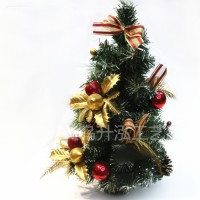 40 cm Pohon Natal mini Christmas Tree gift bonsai ornamen Bagikan : E