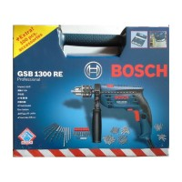Bosch GSB 1300 RE Box (Bor Beton 13mm + Bonus Mata Bor dan Obeng Variasi