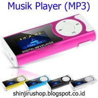 MP3 Player + LED Flashlight. OMPL06BK