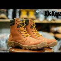 harga Sepatu Outdoor Kickers Pdl Delta Boots Tokopedia.com