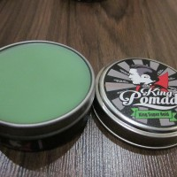 KING MINI POMADE SUPER HOLD OILBASED FREE SISIR AROMA MELON