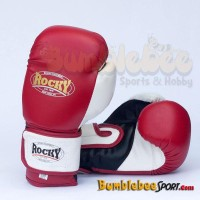 Rocky DX Boxing Gloves - Merah