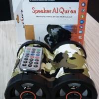 Speaker Digital Al Quran Bisa Mainkan per Halaman, per Juz, per Surat