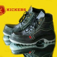 harga Sepatu Kickers Boots Safety Hitam / outdor touring gunung Tokopedia.com