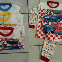 Jual Piyama  anak Cars Alphabet Murah