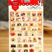 harga Daisyland Stickers Camera / Stiker Kamera Untuk Hiasan Buku Dan Kartu Tokopedia.com