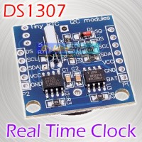 Tiny DS1307 AT24C32 Real Time Clock RTC DS 1307 Module I2C Modul Waktu
