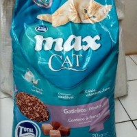 Jual Repack Makanan Kucing MAX CAT 1Kg Lamb & Chicken - Cat Food Murah