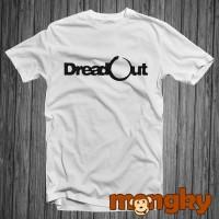 Baju Kaos Putih DreadOut simple.