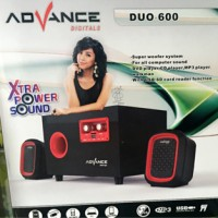 harga Speaker Multimedia Advance Duo 600 - Subwoofer system Tokopedia.com