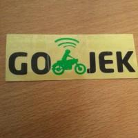 cutting stiker go-jek ojek online