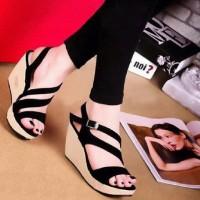 Jual Wedges Wanita / Sandal Sepatu Wedges SDW51 Murah
