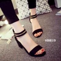 Jual Sandal High Heels Wanita/Sepatu Sendal Wanita SDH19 Murah