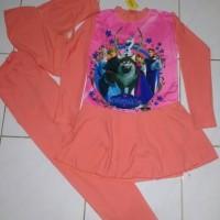 Baju renang anak muslim frozen SD salem tua
