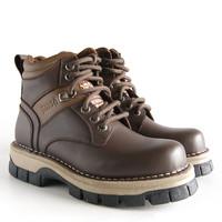 harga Sepatu Boot Kulit / Borsa - Stark Tokopedia.com