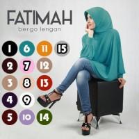 Jual Jilbab Fatimah Bergo Lengan Premium / Bergo Fatima Premium Murah