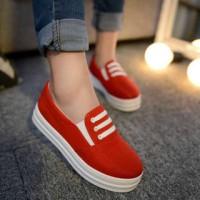 harga sepatu wanita cewek slipon kerja kuliah dropsip hadiah natal kado gift Tokopedia.com