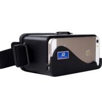 PLASTIC DIY GOOGLE CARDBOARD 3D VIRTUAL REALITY - IPHONE IOS 5/5S/5C