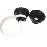 LENSA LESUNG UNIVERSAL 3 IN 1 FISHEYE FOR SMARTPHONE - LX-C301