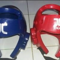 Head Guard Taekwondo JCALICU and MTX (Merah & Biru)