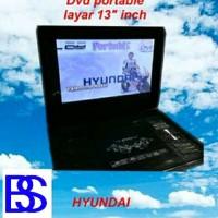DVD Portable Layar 13 Inch Hyundai