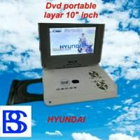 DVD Portable Layar 10 Inch Hyundai