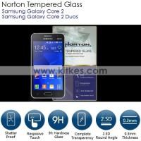 Samsung Galaxy Core 2 - Core 2 Duos Norton Tempered Glass