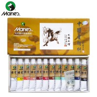 Maries Chinese Painting Color Set 12 x 12ml (E1302)