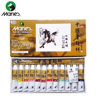 Maries Chinese Painting Color Set 12 x 5ml (E1301)