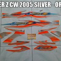 harga Striping Jupiter Z CW 2005 Silver - Orange Tokopedia.com