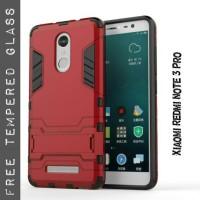 harga Xiaomi Redmi Note 3 Pro Slim Armor Ironman Hybrid + Tempered Glass Tokopedia.com
