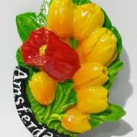 Magnet Kulkas Bunga Tulip Belanda