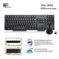 keyboard mouse wireless fantech wk890