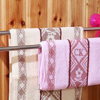 Gantungan handuk mandi tempel vaccuum besi stainless - HBH019