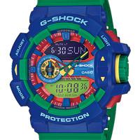 CASIO G-Shock Ga-400-2Adr Green/Two Tone Analog & Digital Watch