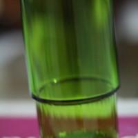 Gelas Tupperware Hijau Transparan
