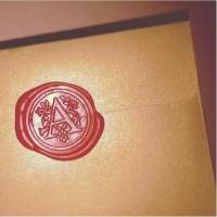Wax stamp seal - stempel segel lilin