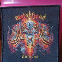 Motorhead - Inferno. Woven Patch / Emblem Import