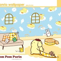 wallpaper sanrio pompompurin