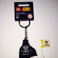 Lego Original Keychain Darth Vader