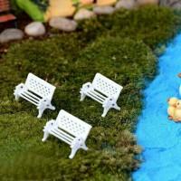 miniature bangku taman dekorasi terrarium fairy garden