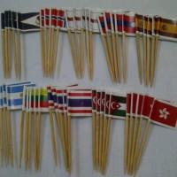 harga Tusukan Bendera Bendera Negara Tokopedia.com